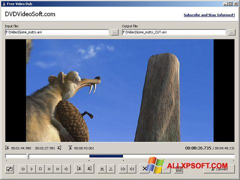 Skærmbillede Free Video Dub Windows XP