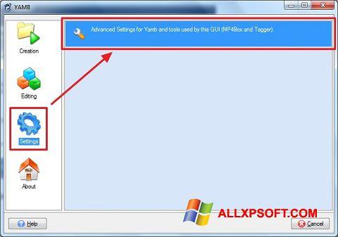 Skærmbillede Yamb Windows XP