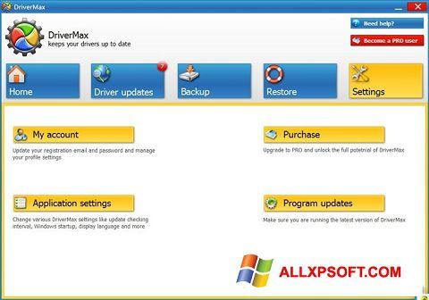 Skærmbillede DriverMax Windows XP