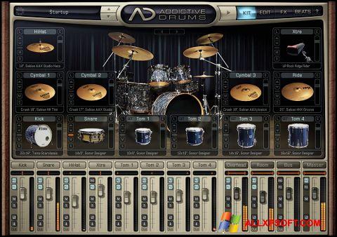 Skærmbillede Addictive Drums Windows XP
