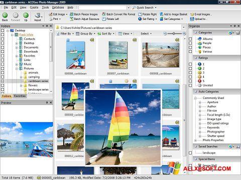Skærmbillede ACDSee Photo Manager Windows XP