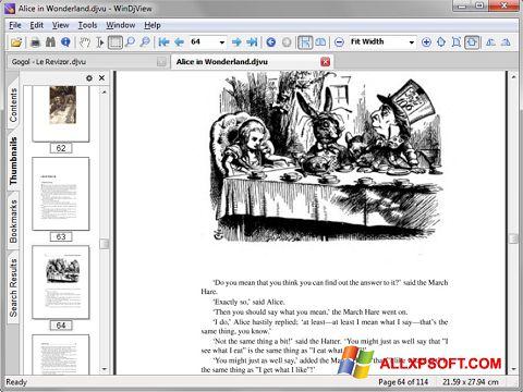 Skærmbillede DjView Windows XP