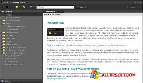 Skærmbillede Adobe AIR Windows XP