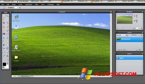 Skærmbillede LightShot Windows XP