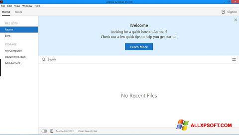 Skærmbillede Adobe Acrobat Pro Windows XP