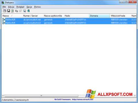 Skærmbillede Dialupass Windows XP