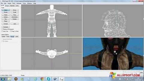 Skærmbillede MilkShape 3D Windows XP