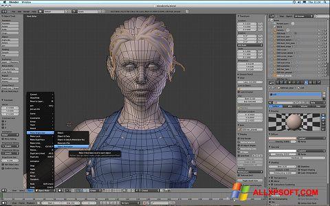 Skærmbillede Blender Windows XP