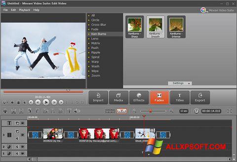 Skærmbillede Movavi Video Suite Windows XP