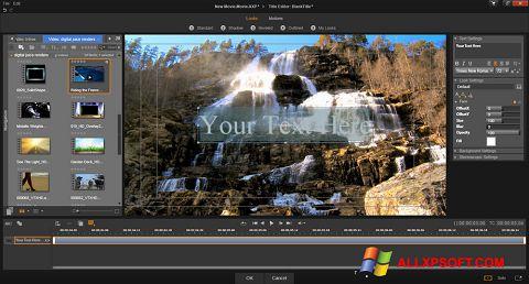 Skærmbillede Pinnacle Studio Windows XP