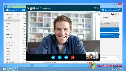 Skærmbillede Skype Windows XP