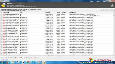 Skærmbillede Recuva Windows XP