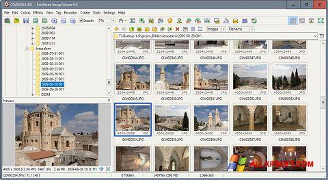 Skærmbillede FastStone Image Viewer Windows XP