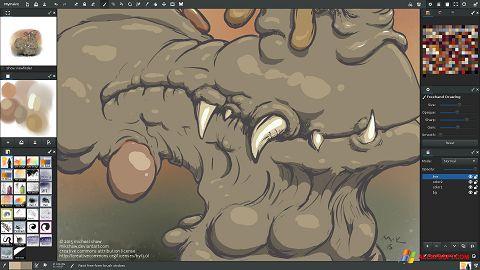 Skærmbillede MyPaint Windows XP