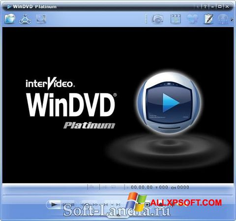 Skærmbillede WinDVD Windows XP