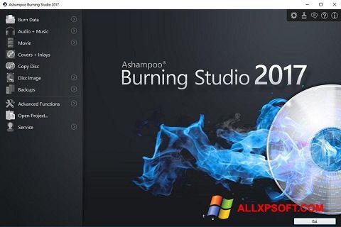 Skærmbillede Ashampoo Burning Studio Windows XP