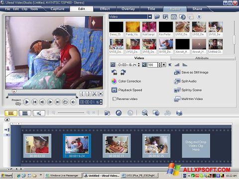 Skærmbillede Ulead VideoStudio Windows XP