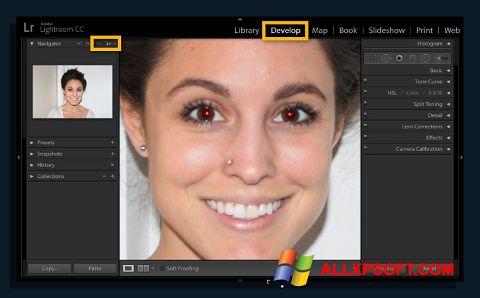 Skærmbillede Red Eye Remover Windows XP